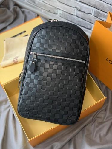 Рюкзак Louis Vuitton Michael черный