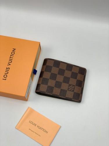 Бумажник Louis Vuitton коричневая шашка
