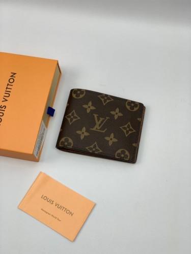 Бумажник Louis Vuitton коричневый монограмм