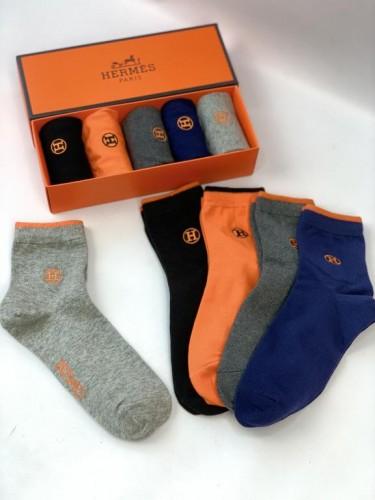 Носки Hermes высокие