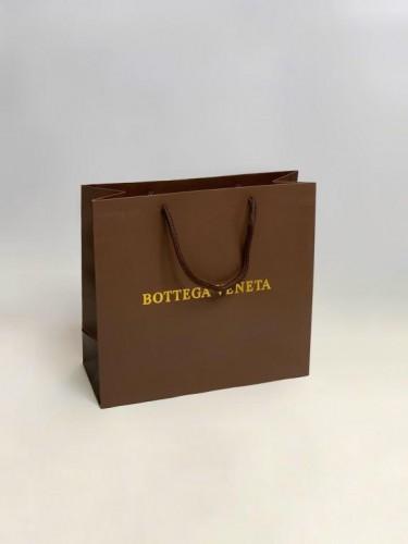 Пакет Bottega Veneta коричневый маленький