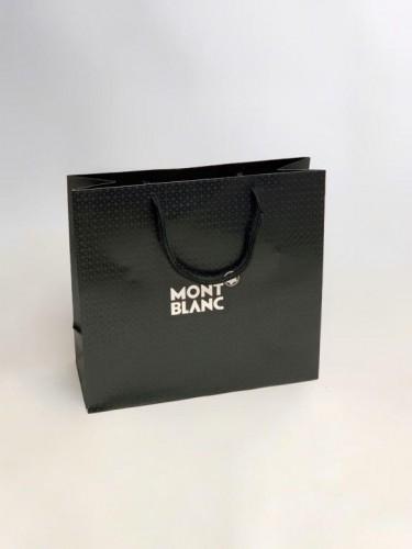 Пакет Mont Blanc черный маленький