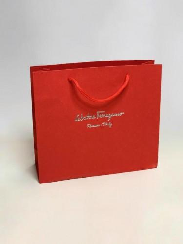 Пакет Salvatore Ferragamo красный маленький