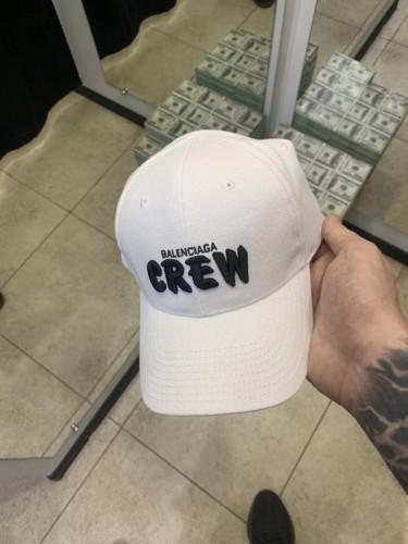 Кепка Balenciaga Crew белая