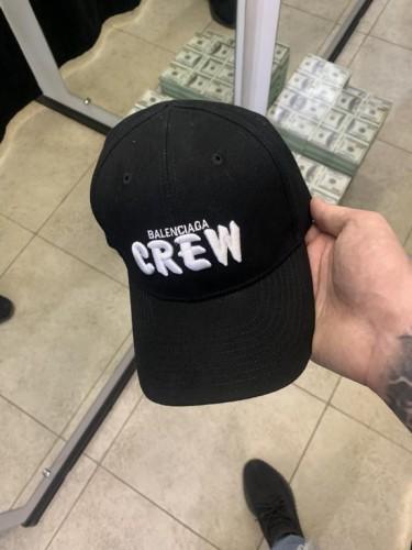 Кепка Balenciaga Crew черная
