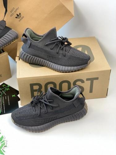 Кроссовки Adidas Yeezy Boost 350 Cinder серые