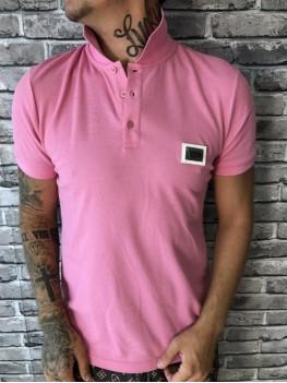 Поло розовое Dolce Gabbana